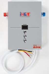 Iheat m 12 pou whole house electric tankless water for Whole house electric heat
