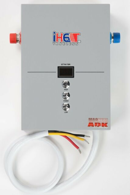 iheat m-16 16kw pou whole house electric tankless water heater