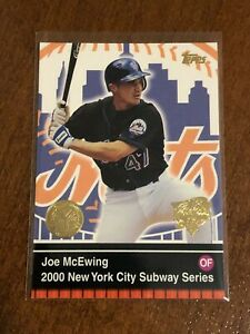 2000-World-Series-Topps-Baseball-Base-Card-15-Joe-McEwing-New-York-Mets