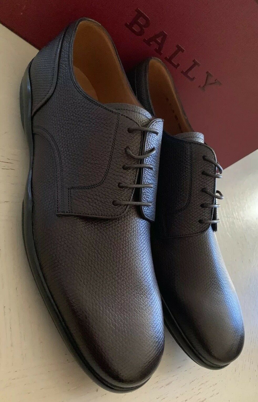 New  495 Bally Men Mincio Leather shoes Brown 11 US ( 44 Eu ) Switzerland