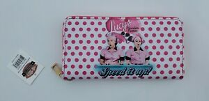 I Love Lucy Chocolate Factory - Zippered Wallet with Wrist Strap (NIP)