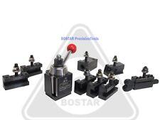 Bostar Axa 250 111 Wedge Type Tool Post Tool Holder Set For Lathe 6 12 10pc