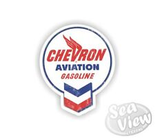 Retro Chevron Gas Fuel Car Van Stickers Decal Funny Sticker