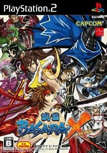 Used-PS2-Sengoku-Basara-X-Capcom-SONY-PLAYSTATION-JAPAN-IMPORT