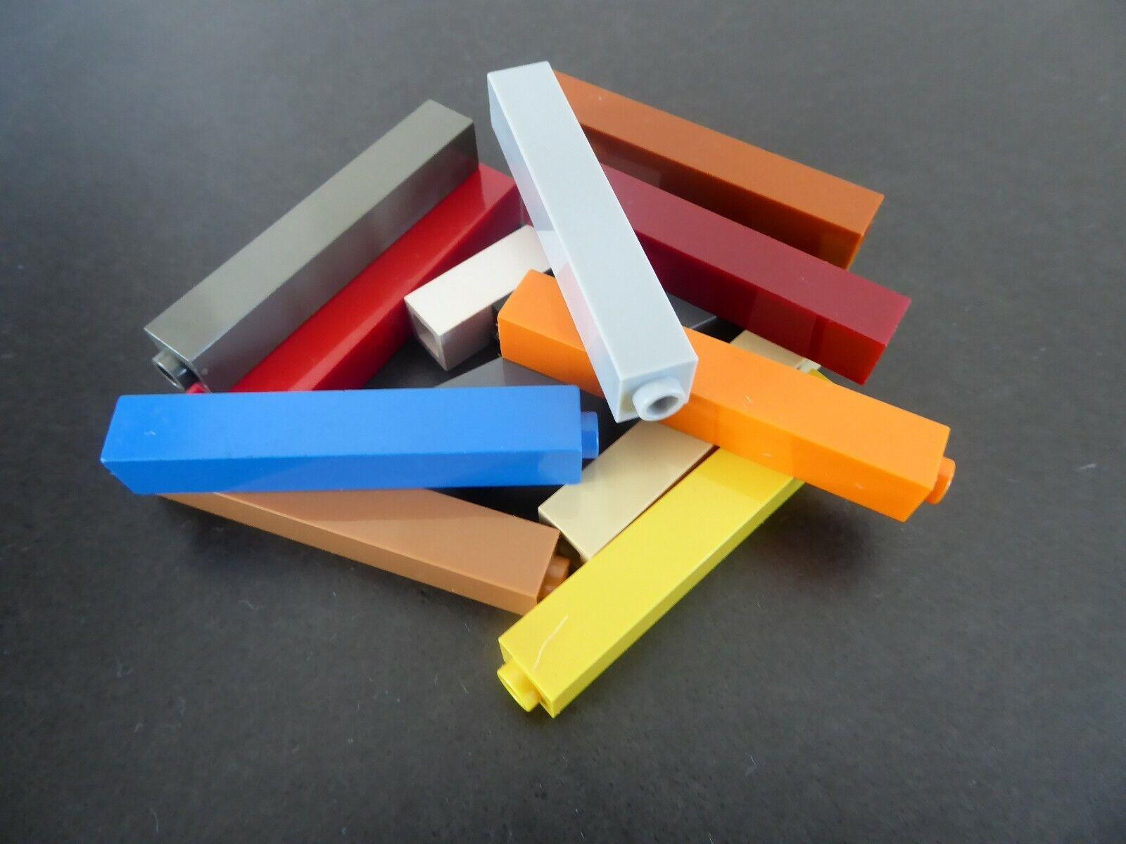 4x Lego Stütze gelb 1x1x6 Pillar Ständer Träger Set 7997 4180814 43888