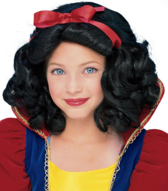 Storybook Princess Wig child female dress up costume hair theater movie stage TV