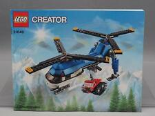 LEGO Creator 31049 Twin Spin Helicopter Building Kit Instruction Manual Only