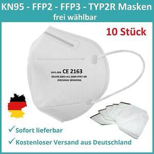 FFP2 Mundschutz Maske FFP3 Maske Atem Mund Nase Schutzmaske Gesichtsmaske