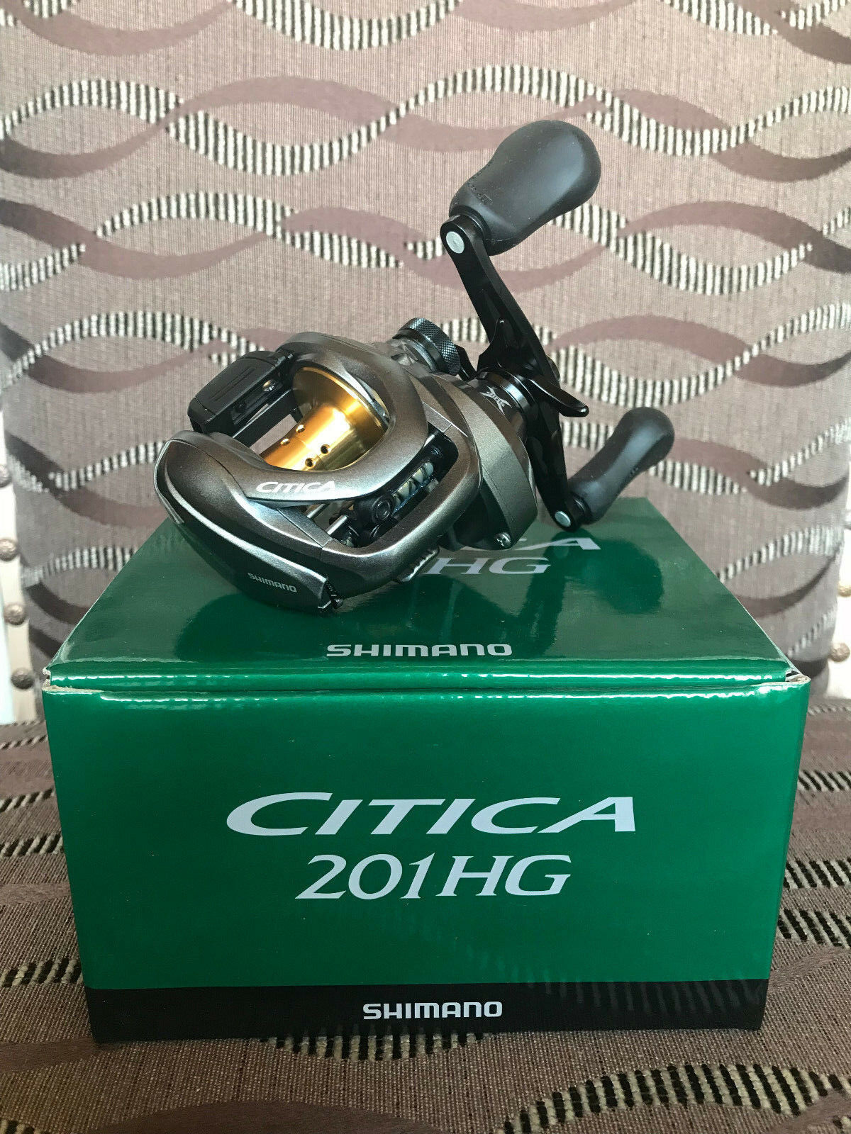 Shimano Citica I 201 HG Linkshand Baitcastrolle