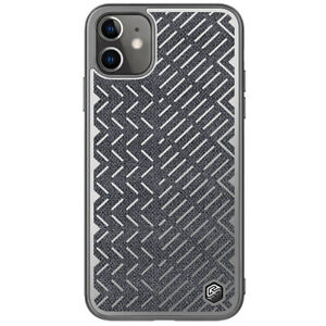 Nillkin-Herringbone-tissu-Hybride-Reflechissant-Housse-etui-pour-iPhone-11