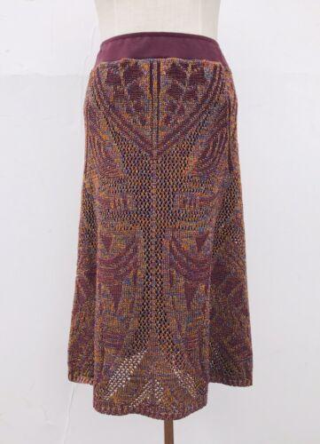 Cecilia Prado Anthropologie LUMI Metallic Crochet