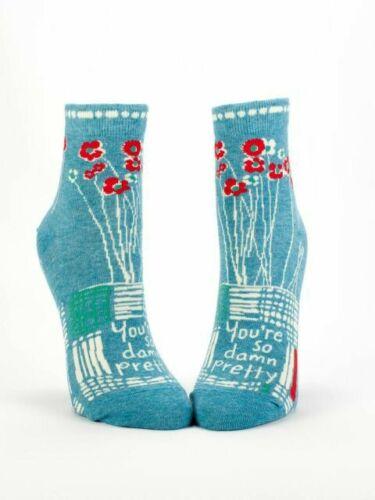 Blue Q Femmes vous sont si maudit assez drôle originale cadeau Socquettes S 5-10