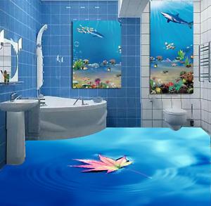 3D Maple Leaf Scenery 876 Floor WallPaper Murals Wall Print Decal 5D AU Lemon