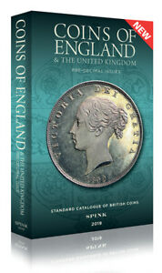 SPINK COINS OF ENGLAND 2019 HARDBACK **NOW IN STOCK** **FREE 1st class UK Post** 9781907427930