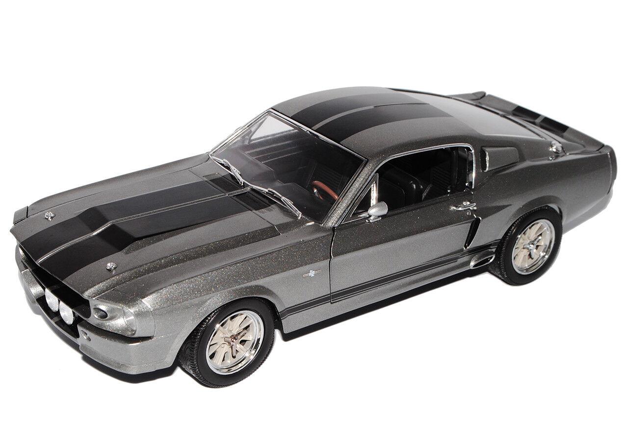 Ford Ford Ford Shelby Mustang gt500 Eleanor sólo quedan 60 segundos 1 18 verdeLight modelo... be4200
