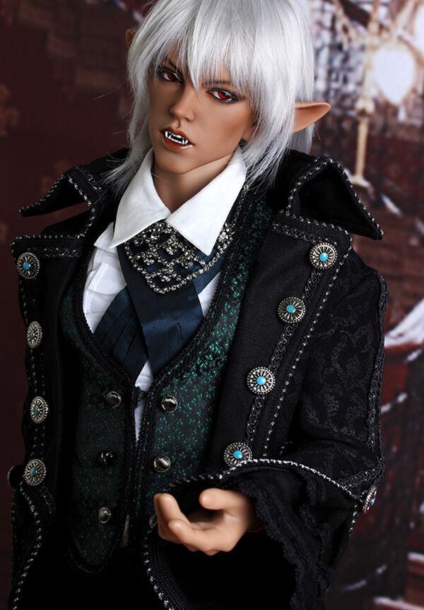 BJD Muñecas Vampiro muñecas de fantasía masculina Resina Figuras Juguetes BJD SD