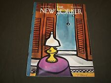 1969 NOVEMBER 22 NEW YORKER MAGAZINE - BEAUTIFUL FRONT COVER FOR FRAMING- O 5281