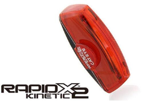 CATEYE TL-LD710K RAPID X2 Kinetic 50-Lumens Bicycle Rear Tail Light Taillight
