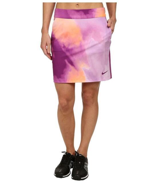 Nike Dri-Fit Printed Woven Golf Skorts/ Skirt - Women's Sz 6   640437 510