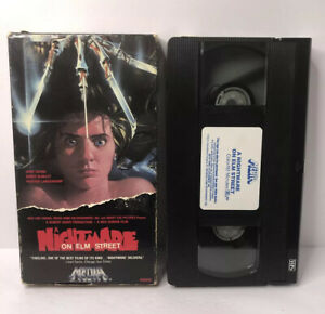 A Nightmare On Elm Street Vhs Horror Slasher 1987 Media Robert England