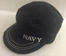 cb422f3c0e7 Embroidered Black Military US Navy Baseball Hat Cap Distressed Tom Cruise  Style