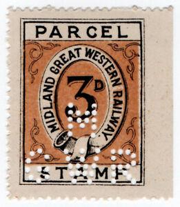 I-B-Midland-Great-Western-Railway-Ireland-Parcel-3d-with-MGWR-perfin