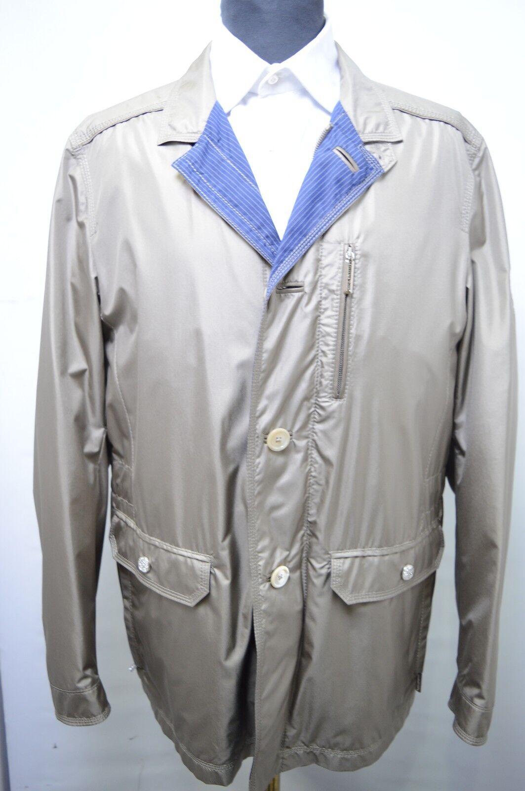 NEW 7250,00  STEFANO RICCI  Outwear Top Over Coat  Us M Eu 50 (G138)
