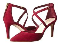 Cole Haan Women's Shoes Juliana Ankle Strap Pump 75 Red High Heels Msrp $168