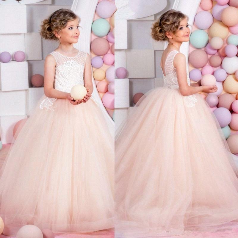 Communion Party Prom Princess Pageant Flower Girl Dress Bridesmaid Wedding ***