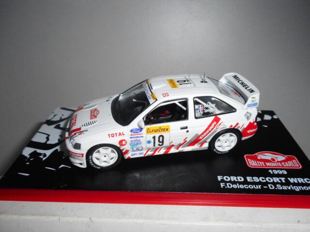 FORD ESCORT WRC RALLY MONTE CARLO 1999 DELECOUR ALTAYA IXO 1/43