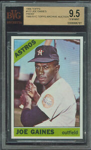 1966-TOPPS-122-JOE-GAINES-PROOF-BGS-9-5-FINEST-GRADED-UNIQUE