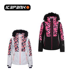Winter Fashion Faux Fur Ski Nancy 1819 Jacket Hooded Details About Title Original Icepeak Show Ladies SpUVMz