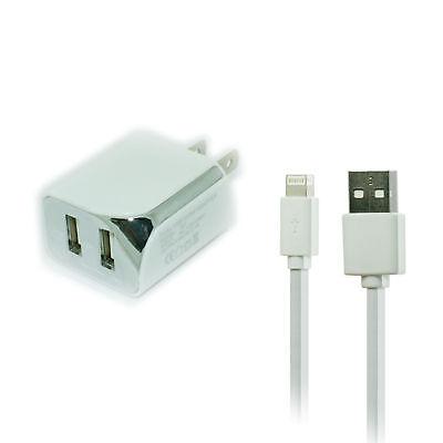 Wall AC Home Charger w USB Port for Apple iPad Mini 4 2 iPad 5th generation 3