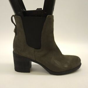 fad6fb5b9f8 New Sam Edelman Womens Hanley Gray Suede Chelsea Ankle Boots Size 6 ...