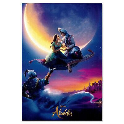 Aladdin 2019 Movie Art Canvas Poster Print