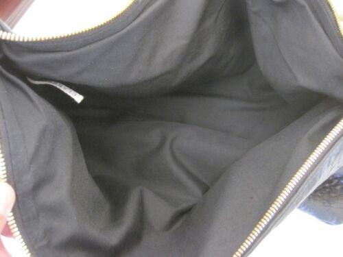 "Details about  /LAPTOP CASE Fold Over Clutch Handbag CLARE VIVIER Black Textured Leather 16/""x11/"""
