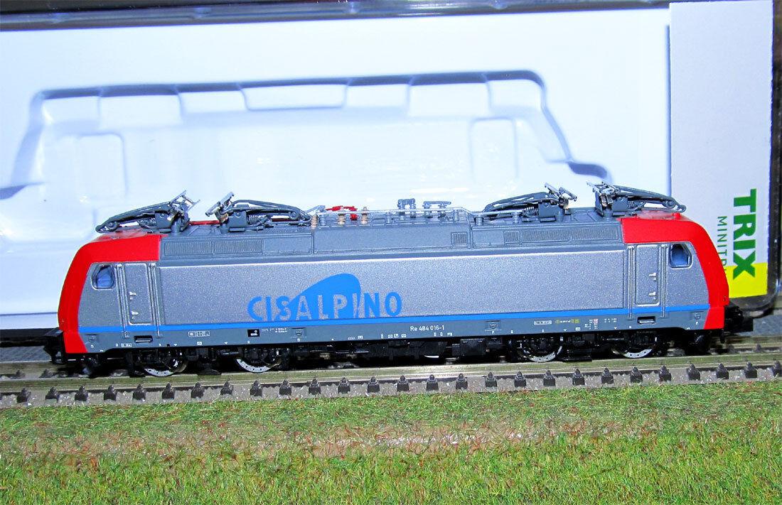 Minitrix Cisalpino locomotiva Re 484 delle delle delle SBB analog/DCC/SX art. 11629-lok 6a6f72