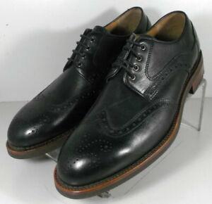 271721 MS50 Men's Shoes Size 10 M Black Leather Lace Up Johnston & Murphy