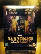STEELBOOK Blu-Ray Guardians Of The Galaxy  [ Zavvi Limited 4000 Ex ] 2D/3D