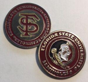 NEW-NCAA-FSU-Florida-State-Seminoles-Golf-Ball-Marker-Bonus