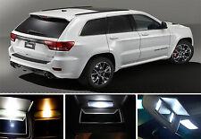Xenon White Vanity / Sun visor LED light Bulbs for Jeep Grand Cherokee (4 Pcs)