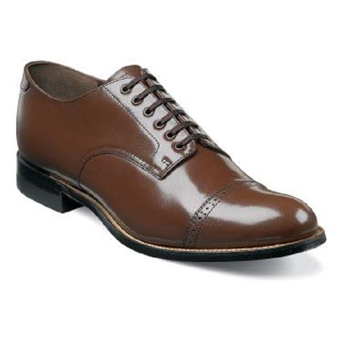 con il prezzo economico per ottenere la migliore marca Madison Uomo scarpe Original Stacy Adams Biscuit Biscuit Biscuit Marrone Leather 00012-02  migliore offerta