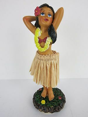 Dashboard Doll Hula Girl Lei Tiki 50s Rockabilly Hawaii Kustom Kulture HotRod