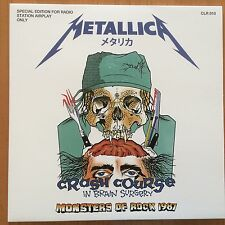 Metallica Monsters of Rock Pforzheim 1987 rare white vinyl LP