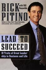 Lead to Succeed by Bill Reynolds, Rick Pitino