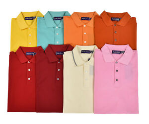 06b3fa6cd Image is loading Ralph-Lauren-Purple-Label-Cotton-Mesh-Polo-Golf-
