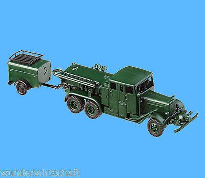 Roco 4109 H0 HENSCHEL TANKSPRITZE +AH Feuerschutzpolizei 1:87 HO OVP Minitanks