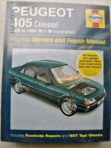 peugeot 405 workshop manual ebay rh ebay co uk Peugeot 404 Peugeot 305