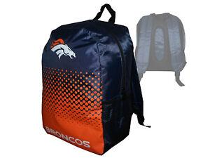 Denver-Broncos-Fan-Rucksack-orange-NFL-Backpack-Tasche-Schultasche-45x35x15cm