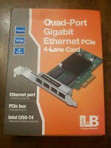 SIIG-Quad-Port-Gigabit-Ethernet-PCIe-4-Lane-Card-I350-T4-Adapter-LB-GE0114-S1